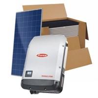 Kit Solar Grid-Tie até 3171 Kwh/Mês para Microgeração (Conexão à Rede)