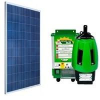 Kit Bomba Solar 1200 a 8600 L/Dia até 40mca Anauger P100 para Poço