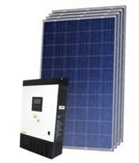 Gerador Solar 201 a 244 kWh/Mês para Uso Isolado (Off-Grid)