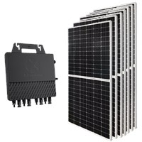 Kit Solar Grid-Tie 194 a 291 Kwh/Mês para Conexão à Rede Elétrica