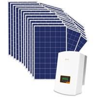 Kit Solar Grid-Tie até 1398 Kwh/Mês para Microgeração (Conexão à Rede)