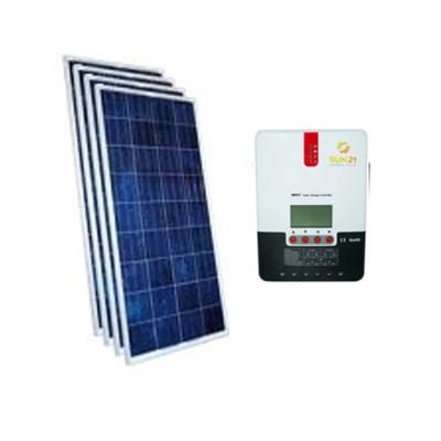 Gerador Solar 168 Kwh/Mês para Uso Isolado (Off-Grid)