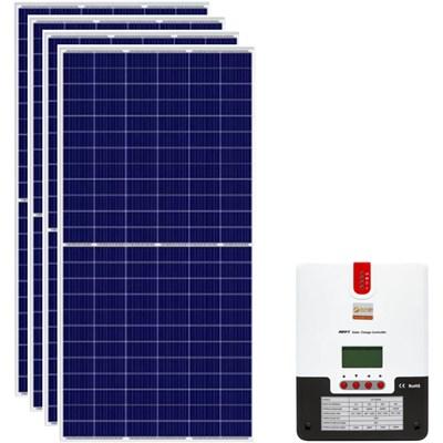 Gerador Solar 219 Kwh/Mês para Uso Isolado (Off-Grid)
