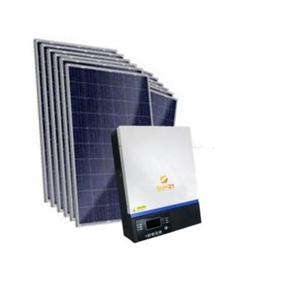 Gerador Solar 584 a 610 kWh/Mês para Uso Isolado (Off-Grid)