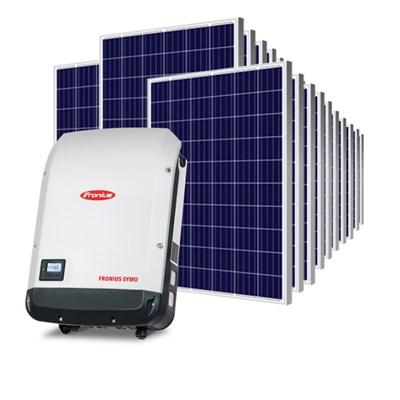 Kit Solar Grid-Tie 1782 Kwh/Mês para Microgeração (Conexão à Rede)