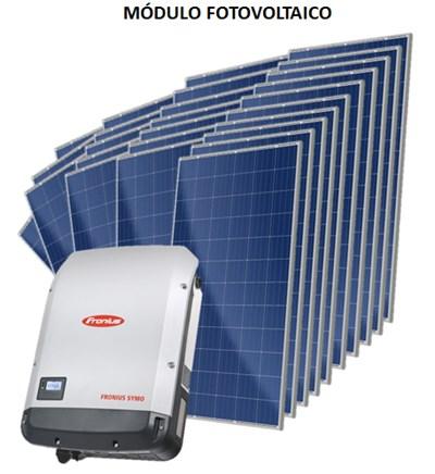 Kit Solar Grid-Tie 2059 kWh/Mês para Microgeração (Conexão à Rede)