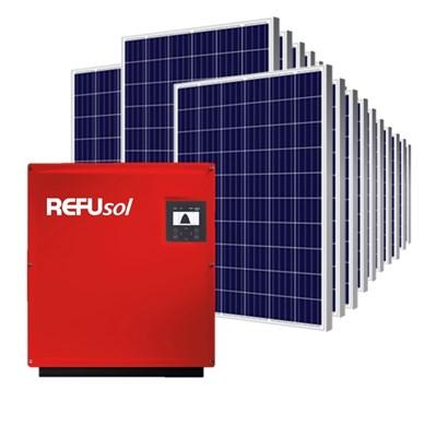 Kit Solar Grid-Tie 2376 kWh/Mês para Microgeração (Conexão à Rede)