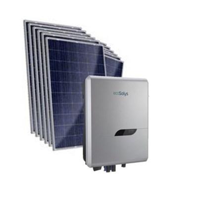 Kit Solar Grid-Tie até 834kWh/Mês para Microgeração (Conexão à Rede)