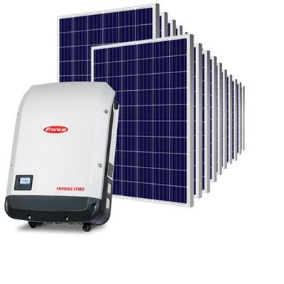 Kit Solar Grid-Tie até 990 kWh/Mês para Microgeração (Conexão à Rede)