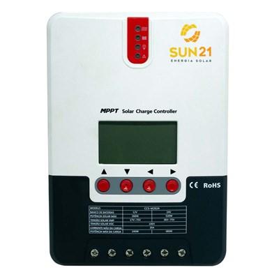 Controlador de Carga 20A 12V/24V MPPT SUN21 - CCS-M2024