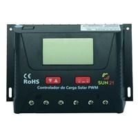 Produto Controlador de Carga 30A 12V/24V PWM SUN21 - CCS-P3024