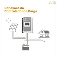 Produto Controlador de Carga 40A 12V/24V MPPT SUN21 - MAX-M4024