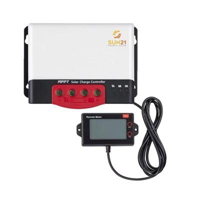 Controlador de Carga Solar MPPT 40A 12V/24V SUN21 - CCS-M4024NCD