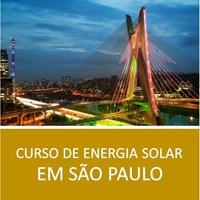 Curso de Energia Solar em São Paulo: Projeto e Instalação Teórico