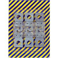 Fusível para Corrente Contínua de 80A MIDI - Cartela com 03 Unidades