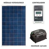 Gerador Solar 39 Kwh/Mês para Uso Isolado (Off-Grid) - GSG-260W-D