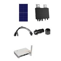 Gerador Solar GGT de0,73 kWp para Conexao a Rede Publica (Grid-tie)