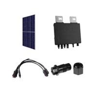 Gerador Solar GGT de0,84 kWp para Conexao a Rede Publica (Grid-tie)