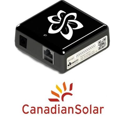 Interface de Monitoramento Wi-fi para Inversores Canadian Solar - SolarView One