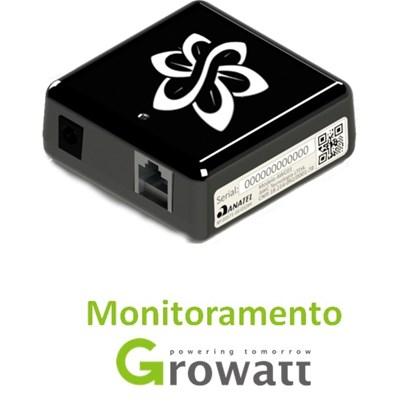 Interface de Monitoramento Wi-fi para Inversores Growatt - SolarView One