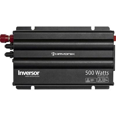 INVERSOR 500W 12V/220V ONDA MODIFICADA HAYONIK