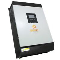 Inversor/Carregador Solar 1600W 24V/120V Senoidal MPPT 60A SUN21