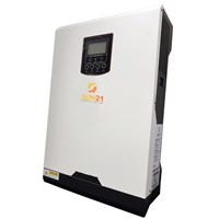 Inversor/Carregador Solar 2400W 24V/120V Senoidal MPPT 80A SUN21