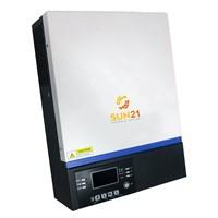 Inversor/Carregador Solar 5000W 48V/220V Senoidal MPPT 80A SUN21