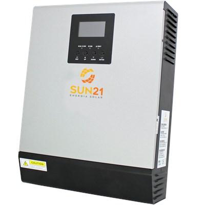 Inversor/Carregador Solar 800W 12V/120V Senoidal MPPT 40A SUN21