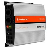 Inversor de 1500W 12V/127V Onda Modificada com Porta USB Hayonik