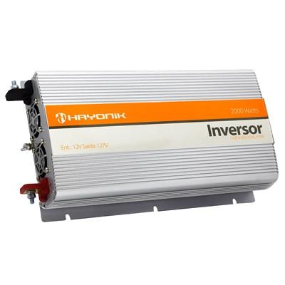Inversor de 2000W 12V/110V Onda Senoidal com Porta USB Hayonik