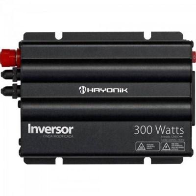 Inversor de 300W 12V/127V Onda Modificada Hayonik - HAY300W