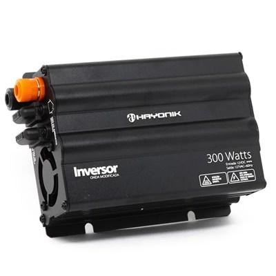 Inversor de 300W 12V/220V Onda Modificada Hayonik - N-HAY300