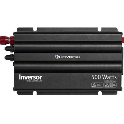 Inversor de 500W 12V/220V Onda Modificada Hayonik - PW-HAY500