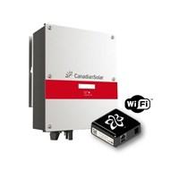 Inversor Grid-Tie 3,0Kw Canadian Solar com WI-FI SolarView - CSI-3K-TL