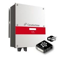 Inversor Grid-Tie 5,0Kw Canadian Solar com WI-FI SolarView - CSI-5K-MTL