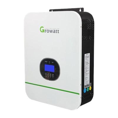 Inversor híbrido Off Grid 3000W 24/120V MPPT 80A Growatt - SPF 3000TL LVM 24 P