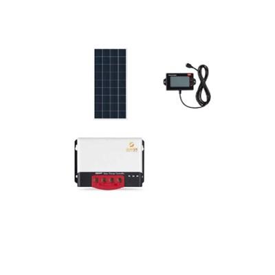 Kit Solar Off-Grid com potencia de 300W para Uso Isolado da Rede