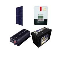 Kit Solar Off-Grid com potencia de 420W para Uso Isolado da Rede