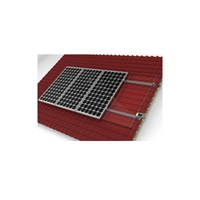 Suporte Painel Solar 2 Módulos 240W a 280W p/ Telhado - CK-990X2