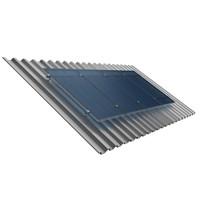 Suporte Painel Solar 2 Módulos de 230W a 370W Telha Fibrocimento RSF-990X2