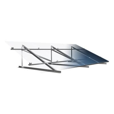 Suporte Painel Solar 4 Módulos de 230W a 370W Laje RSL-990X4