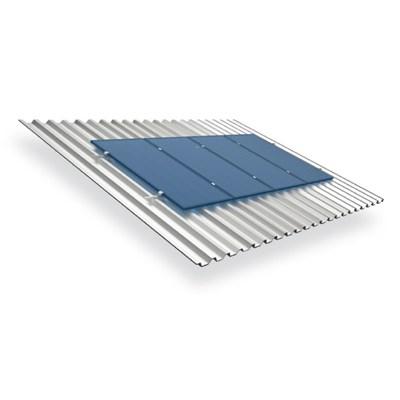 Suporte Painel Solar 4 Módulos de 230W a 405W Telha Metálica RSM-990X4